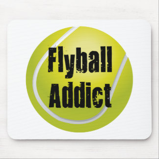 Flyball Addict Mouse Pad