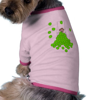 Flyball Ball Shagger Dog Tshirt