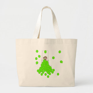 Flyball Ball Shagger Duffle Tote Bags