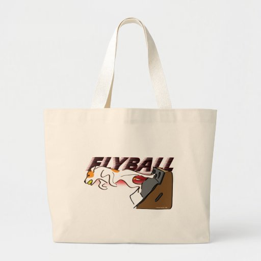 Flyball Boxturn Tote Bags