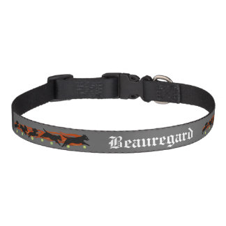 Flyball Dog Sports Custom Pet Name Collar Dog Collars