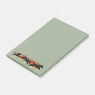 Flyball Dogs Post-it Notes