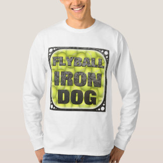 Flyball Iron Dog - 10 years of competition! T-Shirt