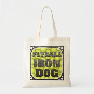 Flyball Iron Dog Budget Tote Bag