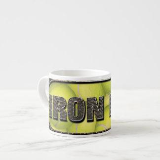 Flyball Iron Dog Espresso Mug 6 Oz Ceramic Espresso Cup