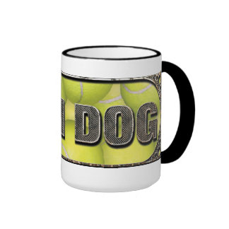 Flyball Iron Dog Ringer Mug