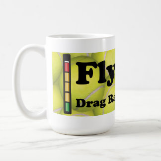 Flyball is  Drag Racing for Dogs Classic White Mug