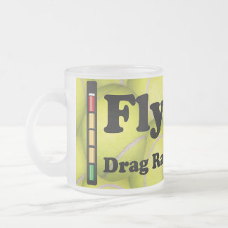 Flyball is Drag Racing for Dogs,Frosted Coffee Mug