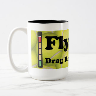 Flyball is Drag Racing for Dogs, Two-tone Mug