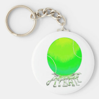 flyball key chain