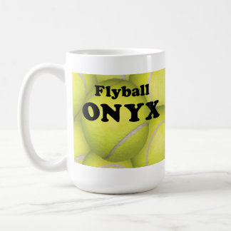 Flyball, ONYX Classic White Mug