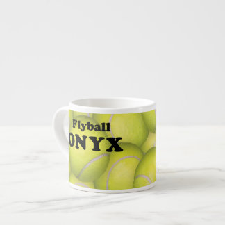 Flyball, ONYX Espresso Mug 6 Oz Ceramic Espresso Cup