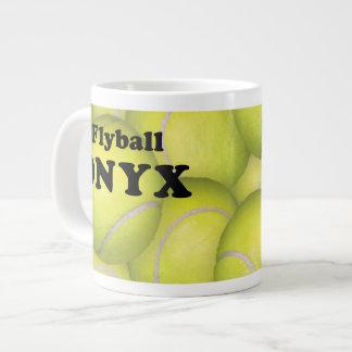 Flyball, ONYX Jumbo Mug 20 Oz Large Ceramic Coffee Mug