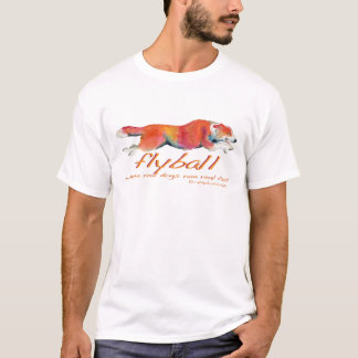 Flyball real dogs T-Shirt