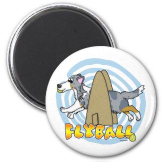 Flyball Sheltie Magnet