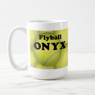 Flyball, taza blanca clásica del ÓNIX