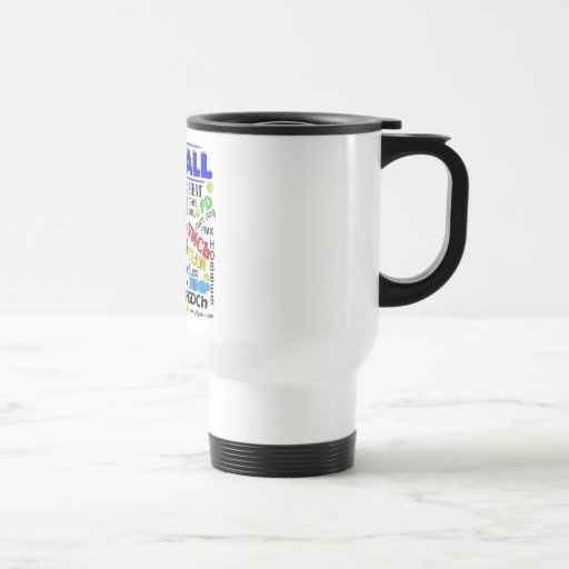 Flyball Terms 15 Oz Stainless Steel Travel Mug