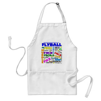 Flyball Terms Aprons
