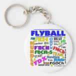 Flyball Terms Key Chain