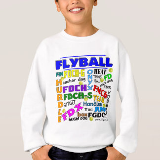 Flyball Terms Sweatshirt