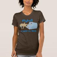 Flyball Twist Women's T Tshirts