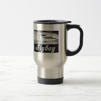 Flyboy 15 Oz Stainless Steel Travel Mug