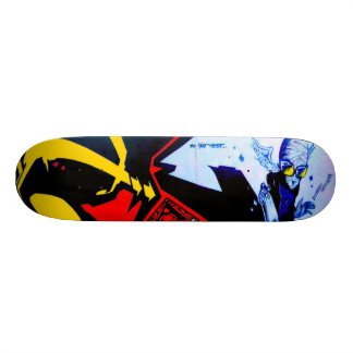 Flyboy Can Control - Sk8 Street Art Skateboards