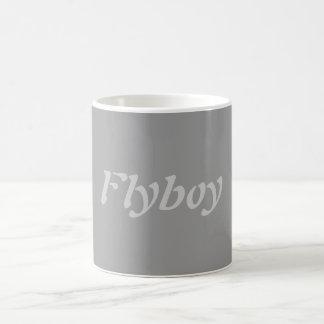 Flyboy Classic White Coffee Mug