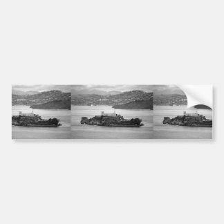 Flyby Alcatraz Island Bumper Stickers