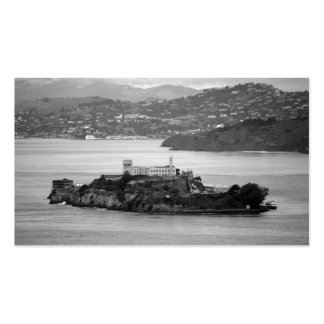 Flyby Alcatraz Island Business Card