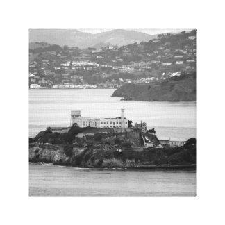 Flyby Alcatraz Island Canvas Prints