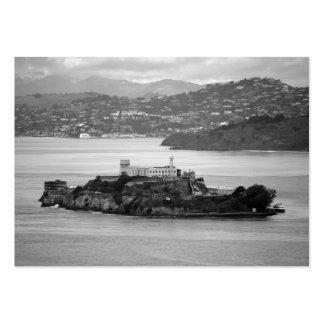 Flyby Alcatraz Island Large Business Card