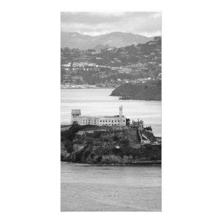Flyby Alcatraz Island Custom Photo Card