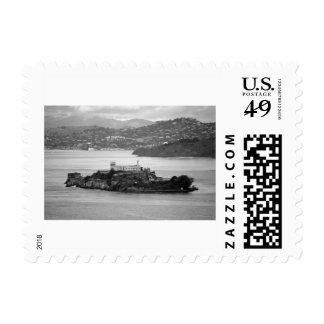 Flyby Alcatraz Island Postage