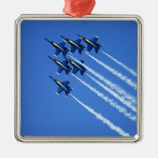 Flyby de los ángeles azules durante la semana 2 de ornato