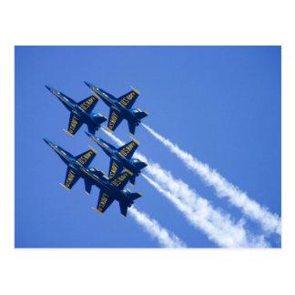Flyby de los ángeles azules durante semana de 2006 postal