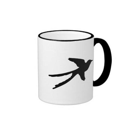 Flycatcher de Scissortail Taza De Café