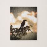 Flycatcher del fuego rompecabezas con fotos