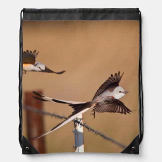 Flycatchers Scissor-Atados (Tyrannus Forficatus) Mochilas