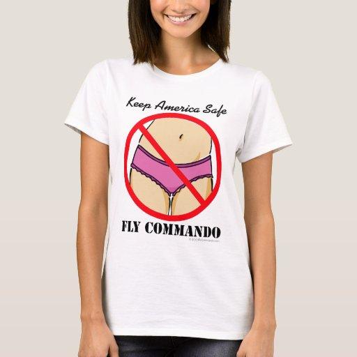 Flycommando panties t shirt zazzle for T shirt and panties