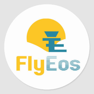 FlyEos_large Sticker