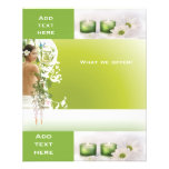 Flyer Beauty Salon Spa Green 2 Template Small