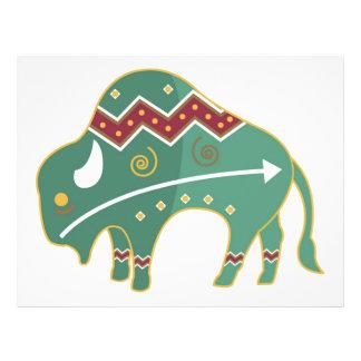 Flyer Buffalo Native American