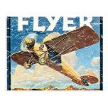 Flyer- distressed postcard