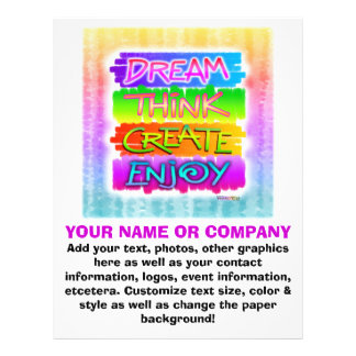 Flyer - Dream Think Create Enjoy