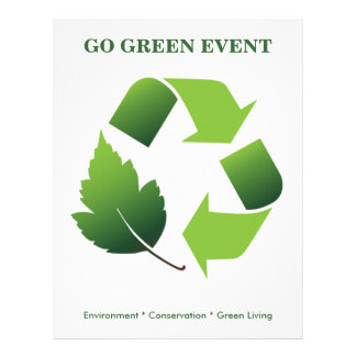 Flyer Go Green Event