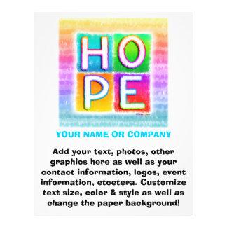 Flyer - Hope Pop Art