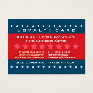 Flyer Hype Badge Store Sale Marketing Promotion V2 Business Card