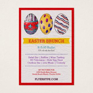 Flyer Hype Paint Eggs Party Event Promotion Card
