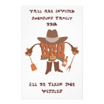 Flyer Invitation for Hillybilly BBQ